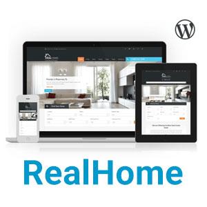 قالب وردپرس املاک RealHome (رایگان)